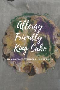 Allergy Friendly King Cak