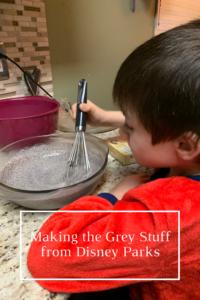 Making the Grey Stuff