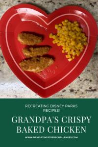 Grandpa's Crispy Baked Chicken