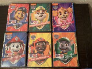 Paw Patrol DVDs