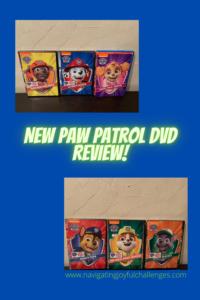 New Paw Patrol Dvds!